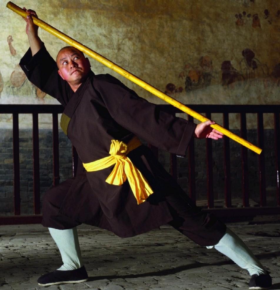 """少林功夫不止是""""少林拳""""&nbsp完整系统的禅武文化体系:少林拳,少林棍图片"""